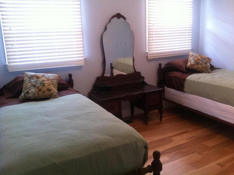 South dormitorio con dos camas individuales