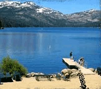 DONNER LAKE con acceso público a seis muelles