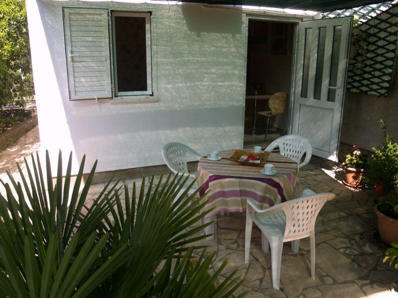Mesa en terraza