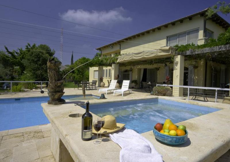 A beautiful 300 SQM house with pool and jacuzee