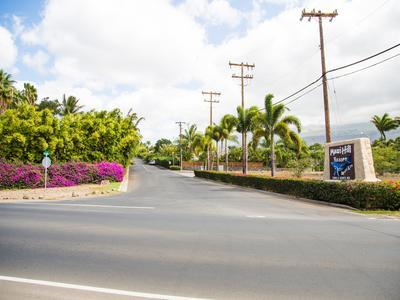 Entrance from South Kihei Road