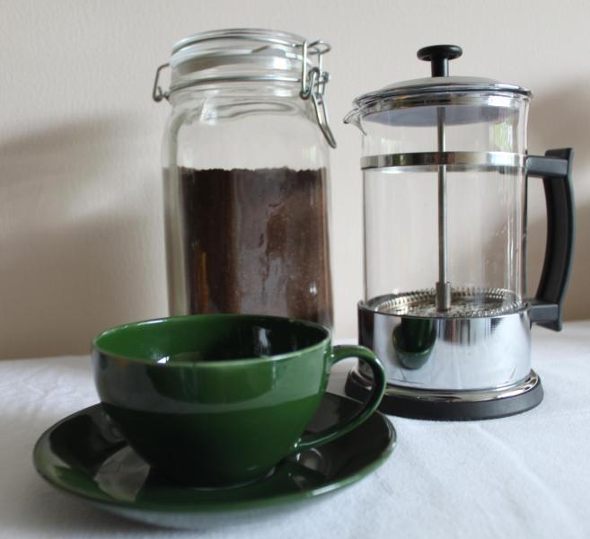 Fresco sur indio café molido - las cosas buenas!