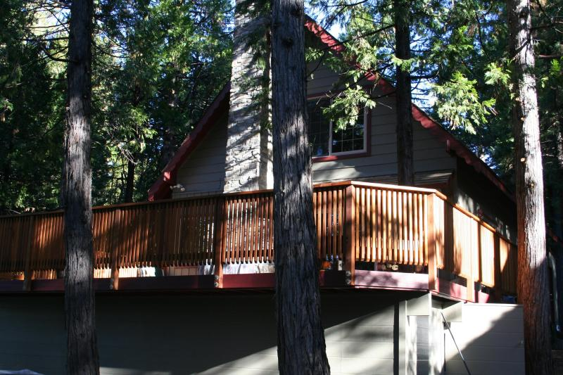 Charming cabin with large outside deck