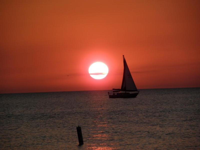 Beautiful sunsets from the lanai