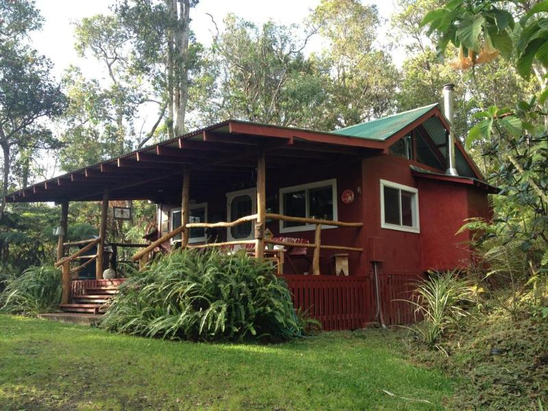 Carson's Mountain Cabin with hot tub and fireplace! Special winter deal...., vacation rental in Island of Hawaii