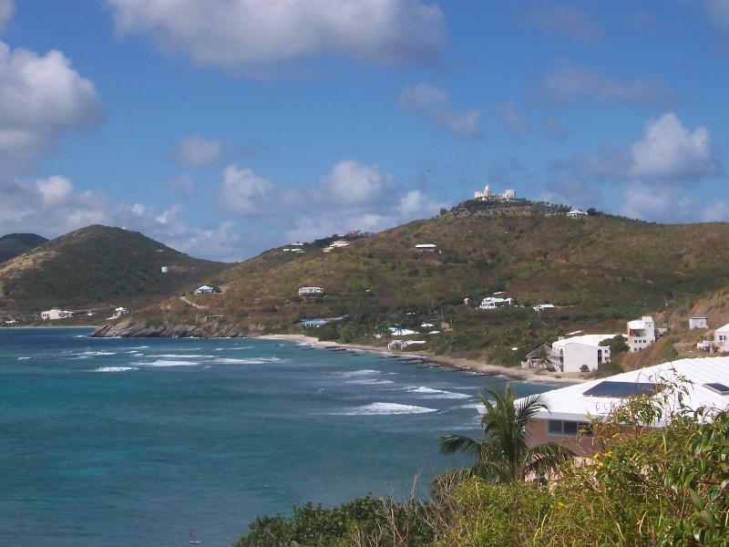 La vue depuis la route de la côte-nord