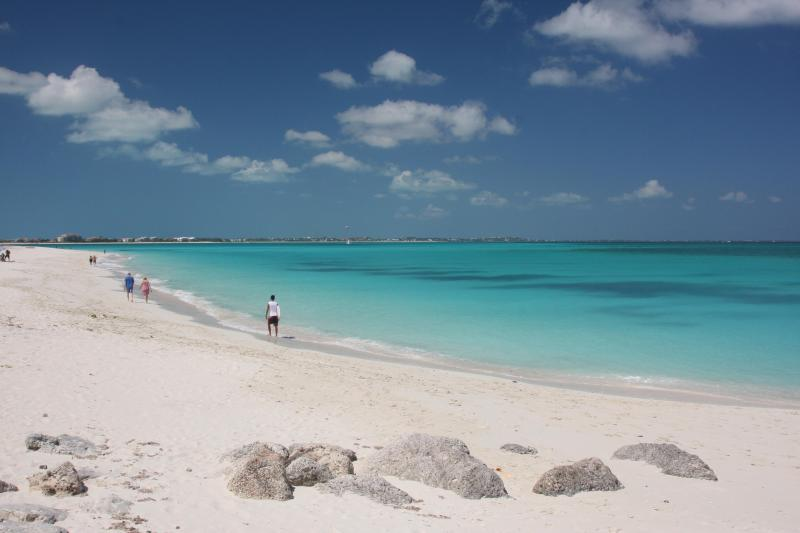 Leeward Beach blends in with Grace Bay for 12 miles!
