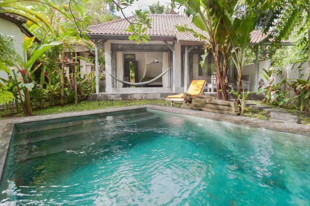 Romantic Cottage With Private Saltwater Pool, vacation rental in Ubud