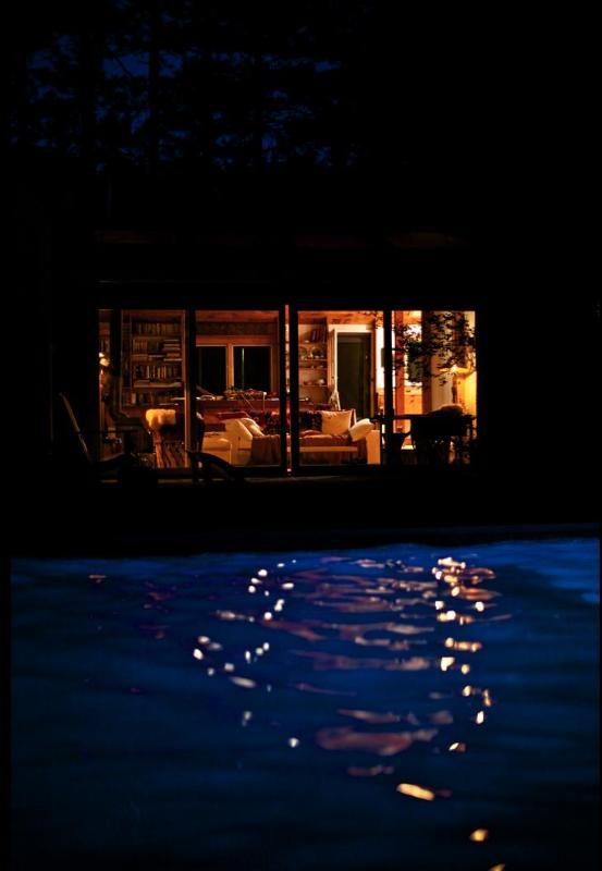 midnight swimming w underwater light