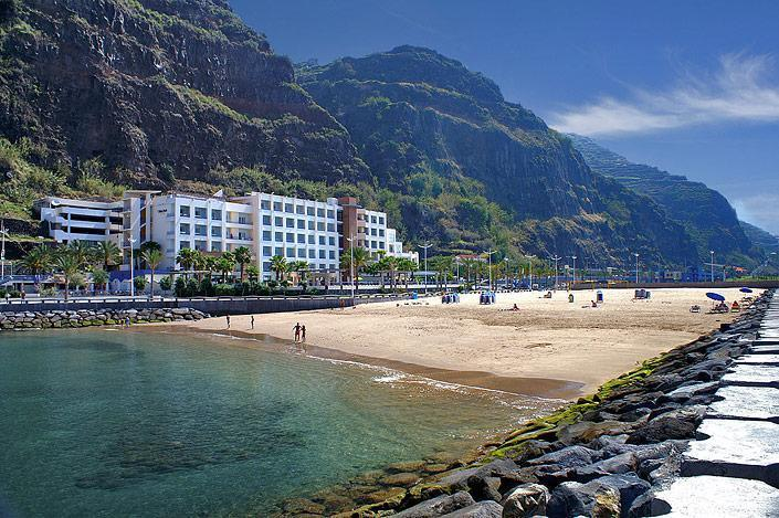 FREE white sand beaches of Calheta Town less than 10 mins drive