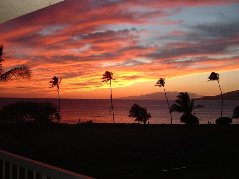 Sunset on our Lanai