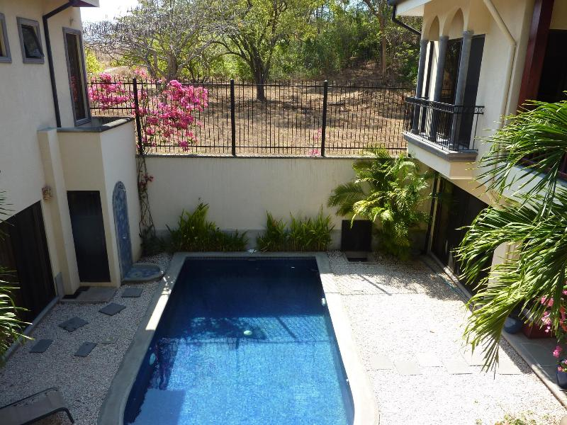 Villa Hibiscus - View of pool from Master Bedroom