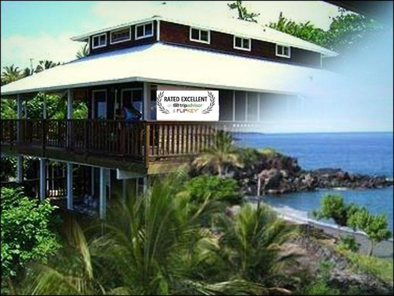 AWARD WINNING home-TOP VACATION RENTAL---3 large bedrooms with ohana suite and two ocean view lanais