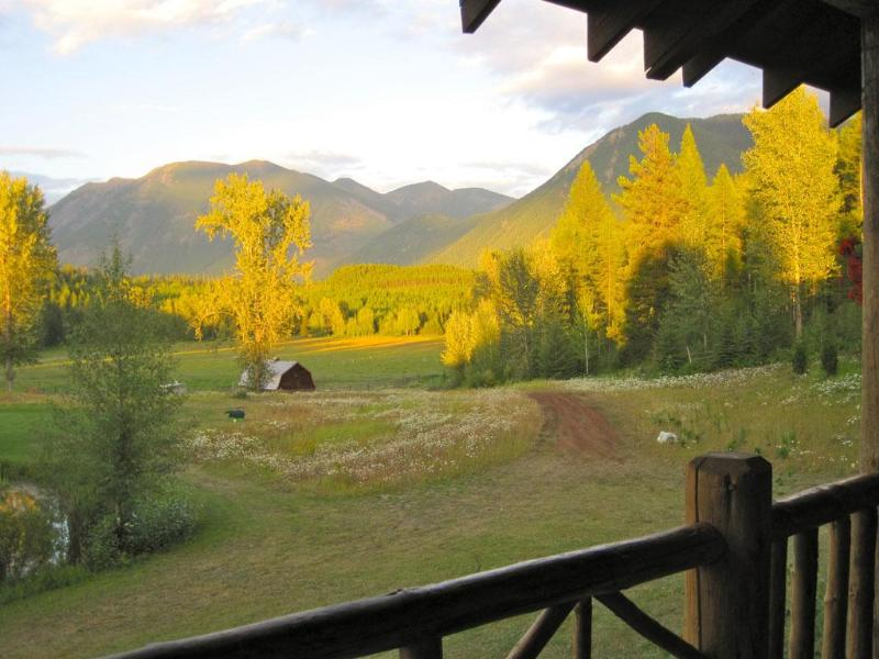 View from the Lodge Porch