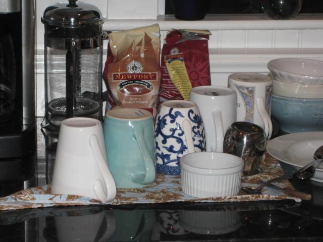 Continental Breakfast Items provided