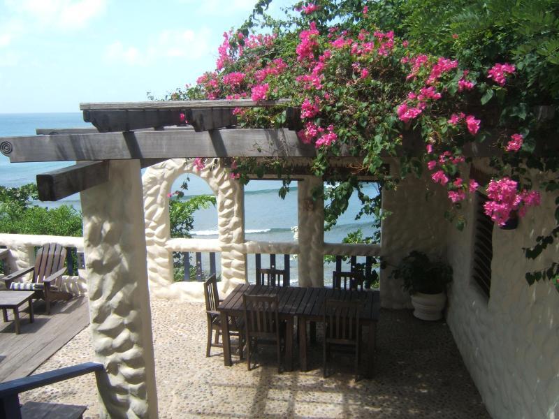 Dining Pergola with Ocean Views