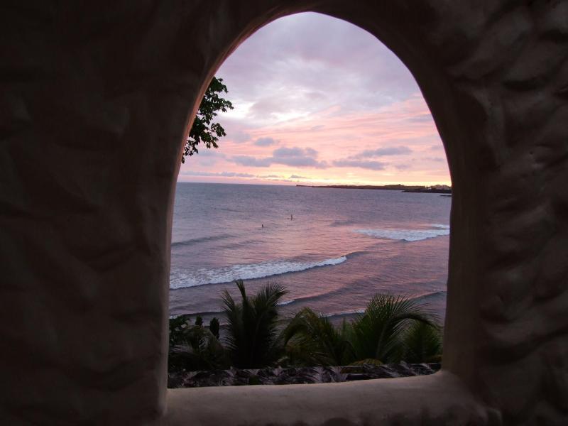 Sunset from Villa Beachcliff