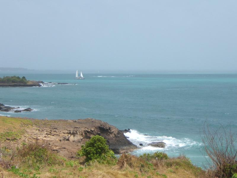 View of the Atlantic Ocean from Front Pergola