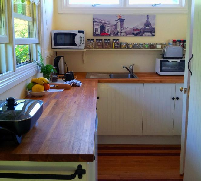 Cottage kitchenette
