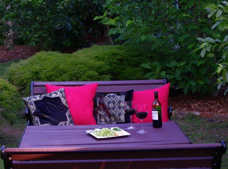 Cottage Outdoor seating