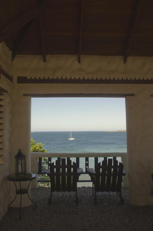 Lookout & Caribbean Sea