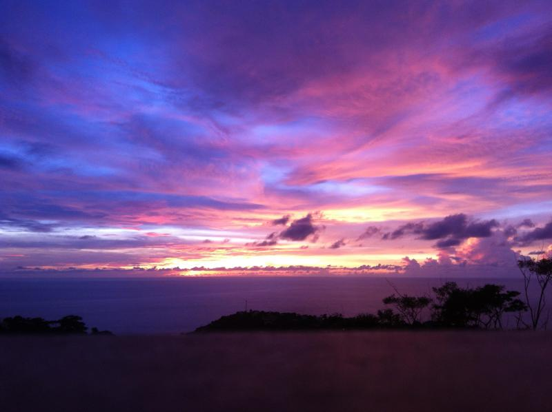 Sunset from Lookout