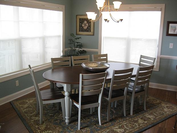 dining upstairs