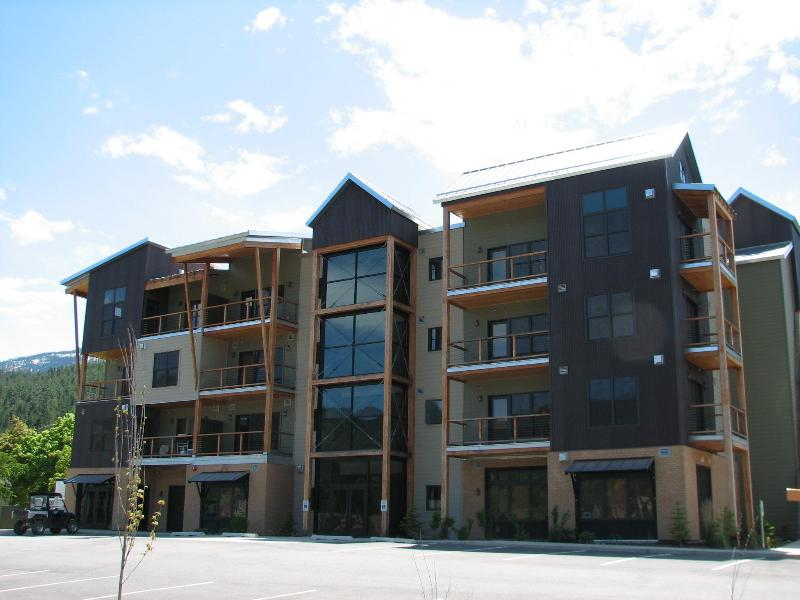 Large Modern Romantic Studio Condo W/ Full Kitchen at Silver Mtn, holiday rental in Kellogg