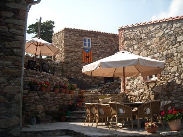 terrace of la maison de xatart