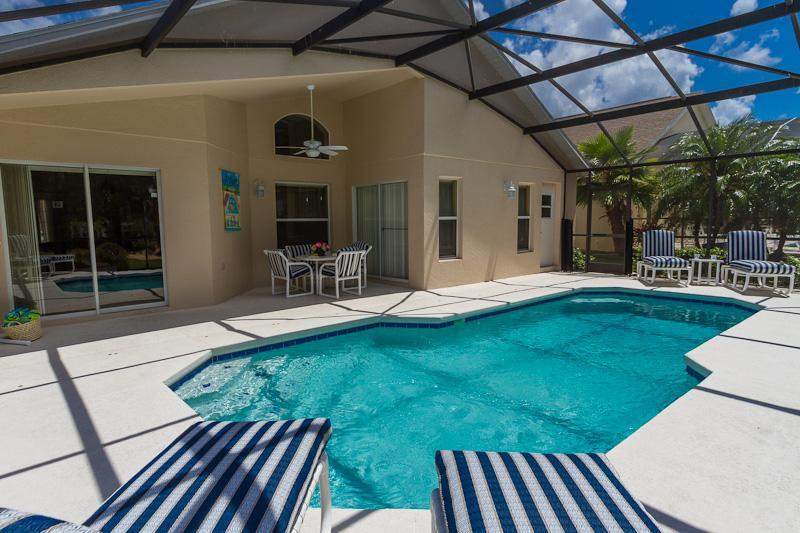 Gorgeous Pool and Covered Lanai
