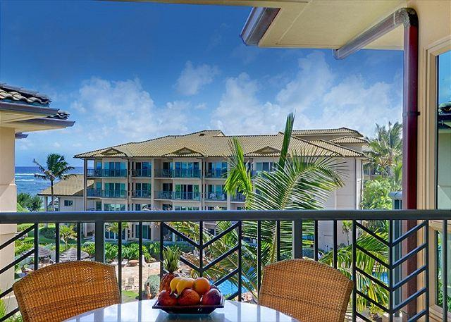 OCEAN & POOL VIEW B404 Top floor **AC** Resort Pool & Restaurant, location de vacances à Kauai