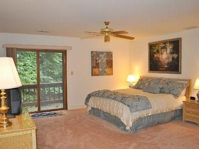 Second Master Bedroom Suite with small balcony and Bathroom Suite