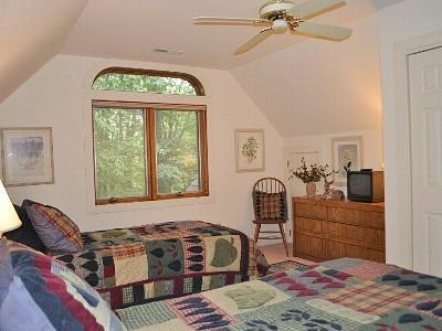 Third Bedroom (two twins which can be converted into a king bed.  Also has a separate bathroom