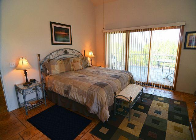 Master Bedroom w/ Patio Access