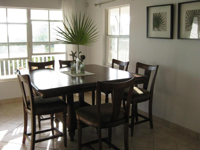 La salle à manger sièges six
