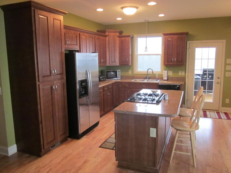 Prepare a gourmet meal in the kitchen and even enjoy chef side seating!