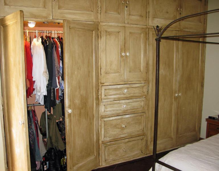 Ample Built in Closets in Master Bedroom