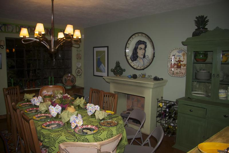 Dining Room set for a party