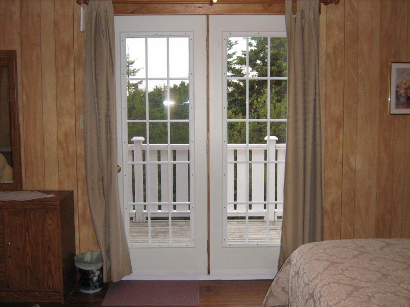 Garden doors to Balcony