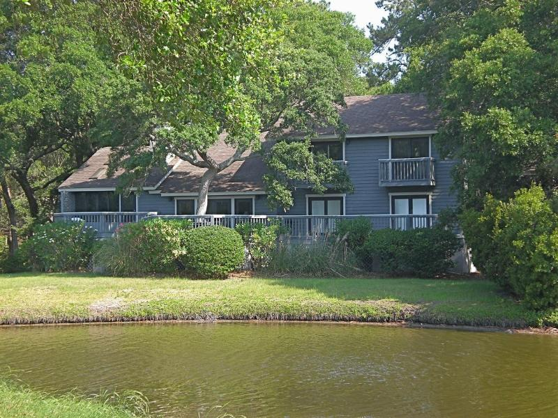 Back of house facing lagoon