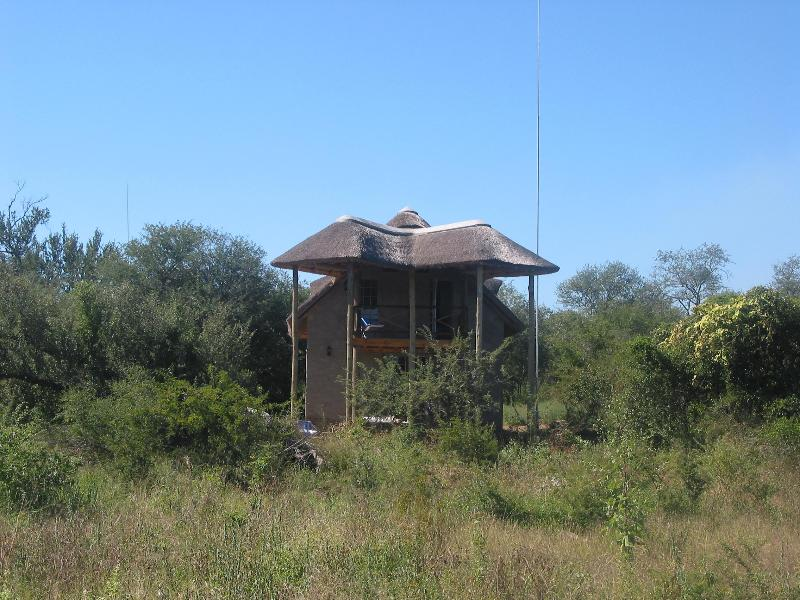 The house in the African bush