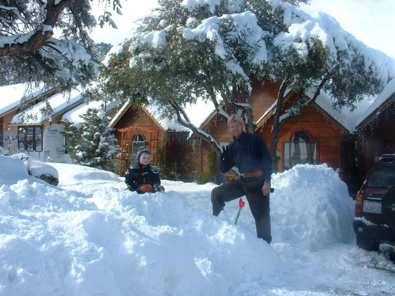 We got 3 feet of snow one year. This much is rare though, but so FUN.