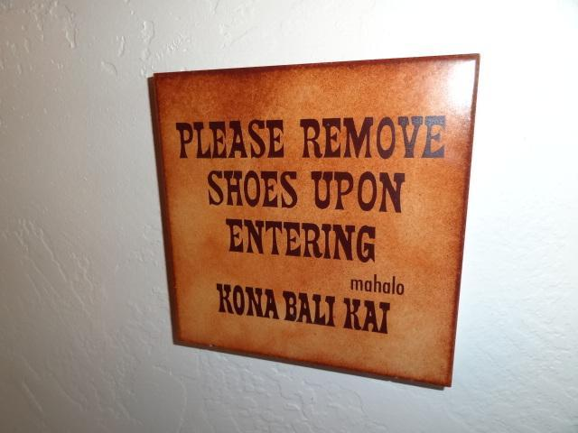 Entrance to the Condo.  Please remember to take off your shoes!