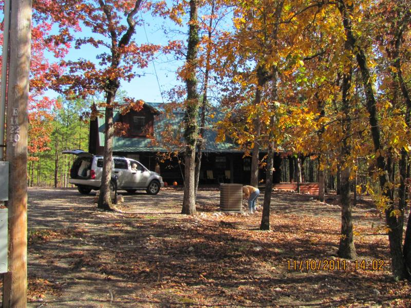 Fall at Antler Cabin