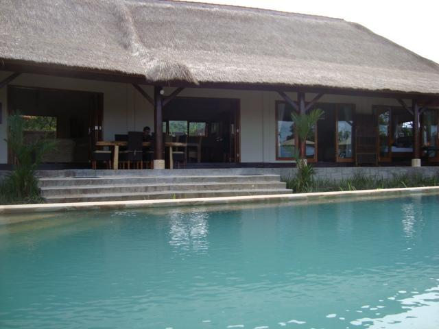 Pool and verandah