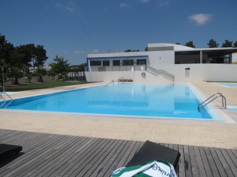 zwembad Baden in zon