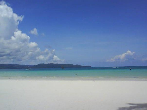 White Beach (250 meters away)