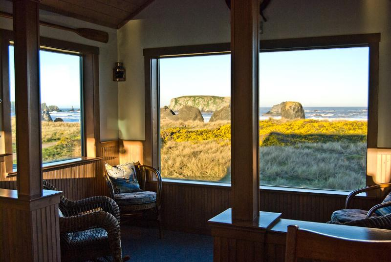Enjoy the sunrise in comfort from the Coast Watch Room as well as spectacular sunsets. sunsets