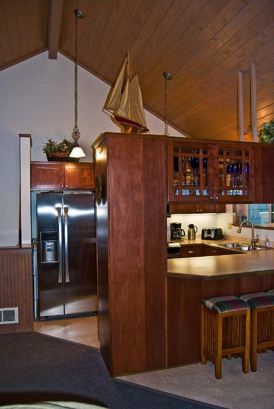 Gourmet alla nya rostfritt kök med renat vatten: (omvänd osmos system)