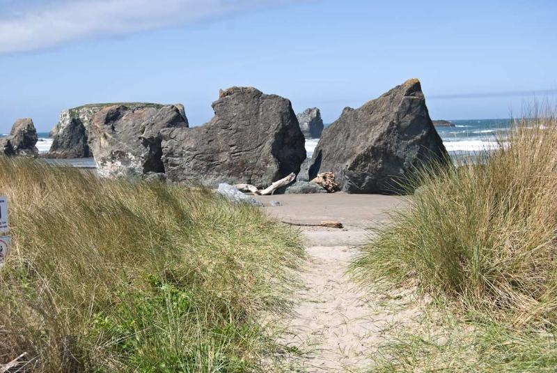Njut av en magisk orörda strand, 60 sekunder från din bakgård Gate.